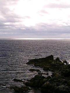 稚内旅行中・礼文島スカイ岬で